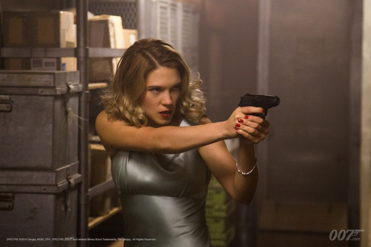 Léa Seydoux plays Madeleine in SPECTRE