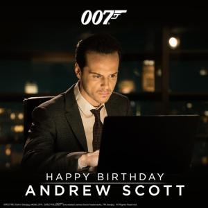 Andrew Scott plays C in SPECTRE