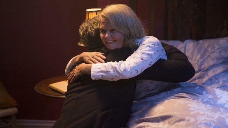 Doctor Who Last Christmas Clara and the Doctor hug