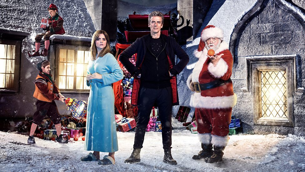 Jenna Coleman, Peter Capaldi, and Nick Frost star in Last Christmas (2014)