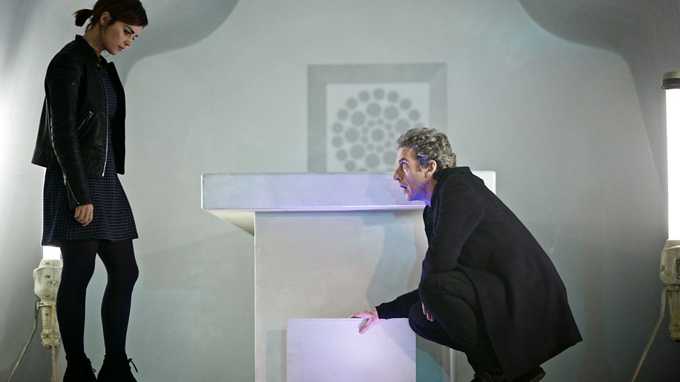 Doctor Who Under the Lake Clara and the Doctor