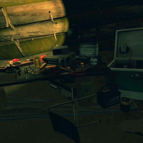 Firewatch screenshot Ned's hideout