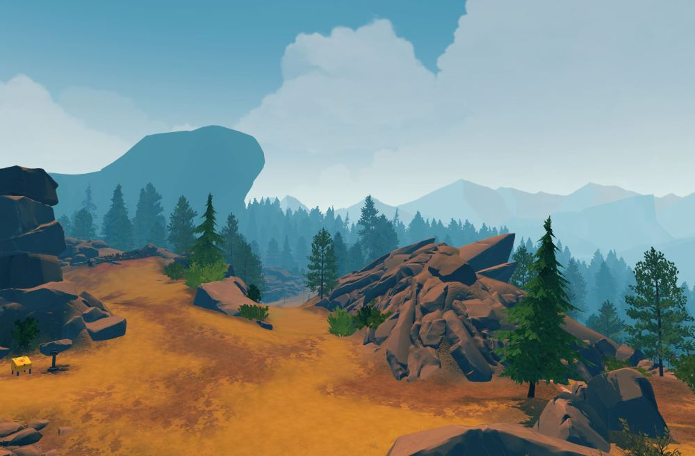 Screenshot photo Firewatch