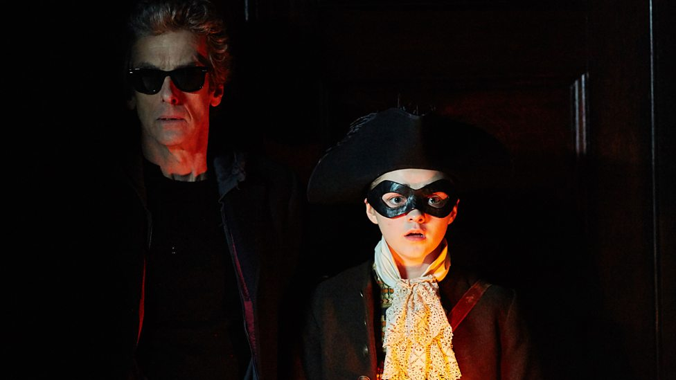 Peter Capaldi and Maisie Williams in Doctor Who Series 9