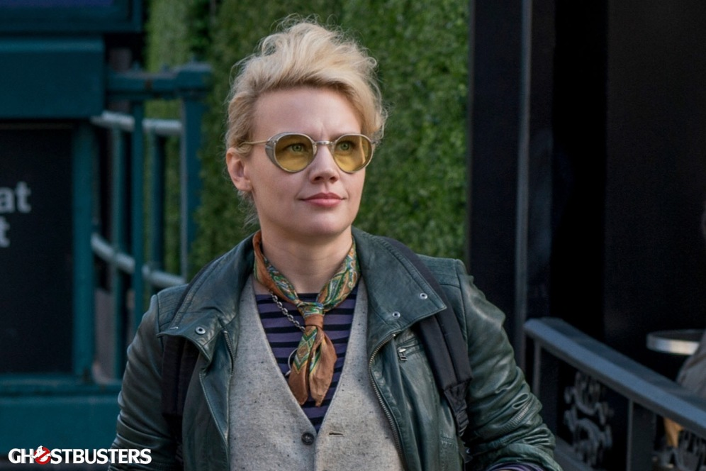 Kate McKinnon is Dr Jillian Holtzmann