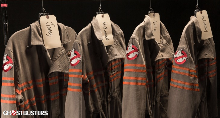 Ghostbusters -- the new gear.