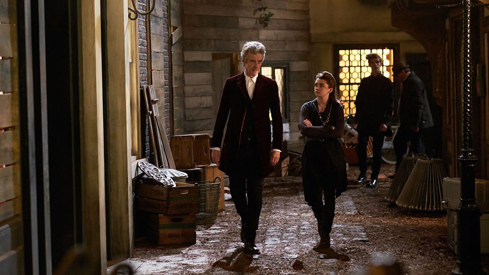 The Doctor and Me/Ashildr on Trap Street