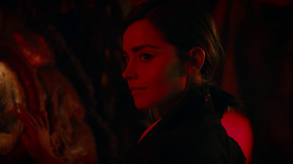 Bonnie reveals herself to be Clara's evil copy.