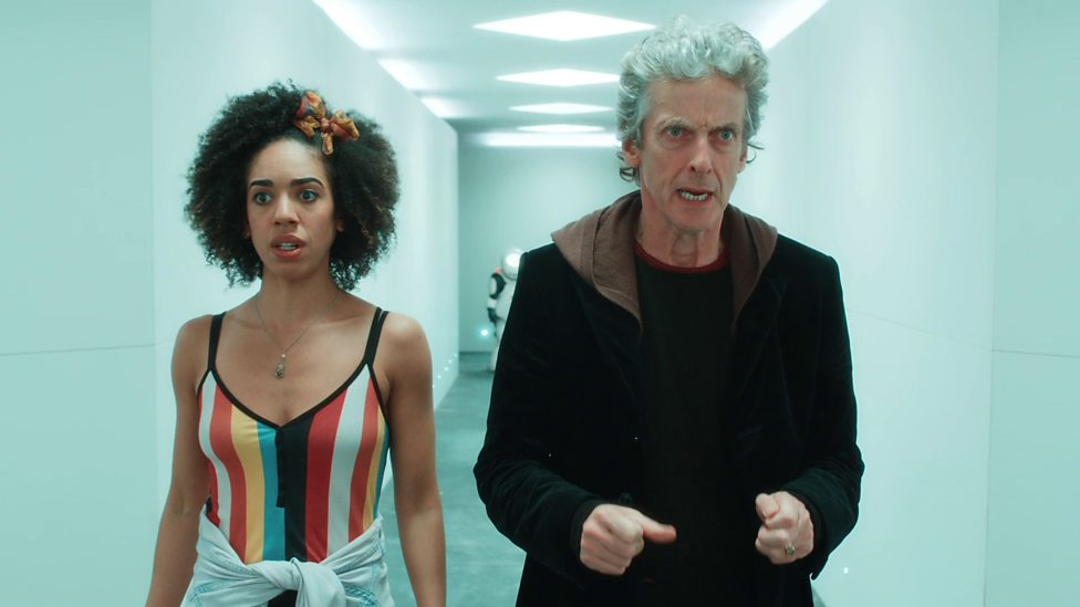 Bill and the Doctor in Smile